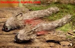 Jig stepanow fishing bullhead ecureuil tete marron