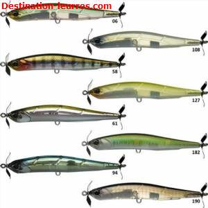 Leurre coulant duo realis spinbait