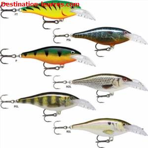 Leurre coulant rapala scatter rap shad deep