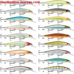 Leurre coulant rapala shadow rap deep