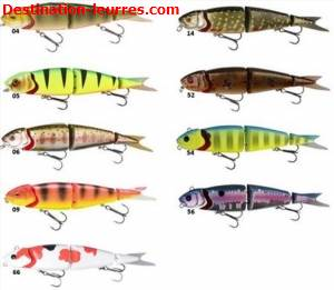 Leurre coulant savage gear 4play herring swim bait