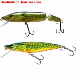 Leurre flottant salmo pike floating