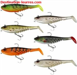 Leurre souple arme berkley powerbait flat giant