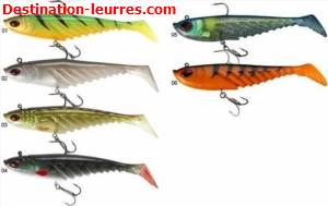 Leurre souple arme berkley prerigged giant ripple
