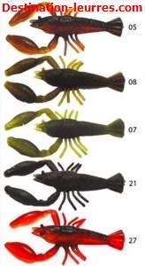 Leurre souple biovex real craw 3 & 4