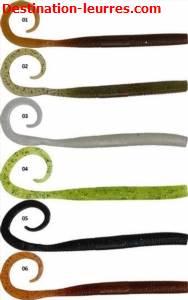 Leurre souple gunki c'eel worm