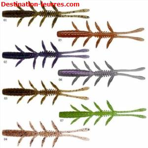 Leurre souple illex scissor comb