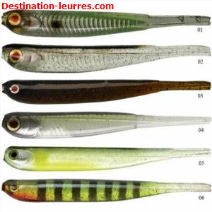 Leurre souple illex super pin tail 100