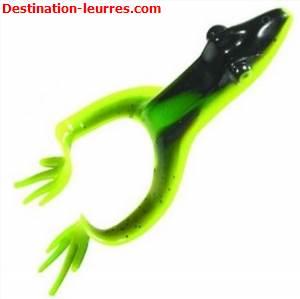 Leurre souple mister twister grenouille chartreuse/vert