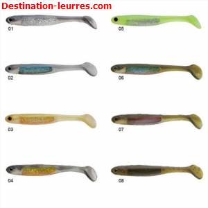 Leurre souple nories spoon tail shad