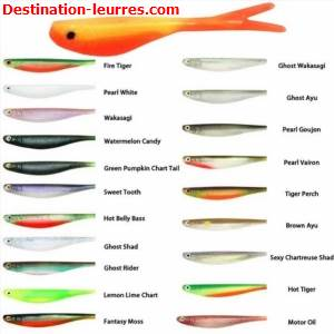 Leurre souple optimum baits victory tail