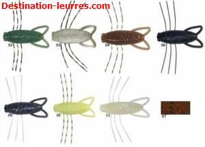 Leurre souple reins insecter