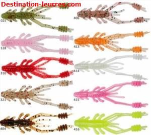 Leurre souple reins ring shrimp