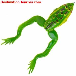 Leurre souple savage gear 3d jumping frog