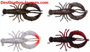 Leurre souple savage gear reaction crayfish