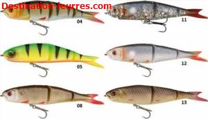 Leurre souple savage gear soft 4play ready to fish