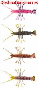 Leurre souple savage gear tpe fly shrimp