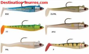 Leurre souple storm ultra shad light