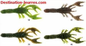 Leurre souple strike king bitsy bug crawfish