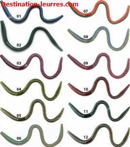Leurre souple xcite baits maximus worm