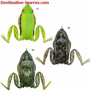 Leurre souple zebco top frog