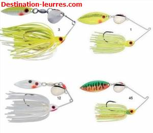 Spinnerbait strike king mini king redeye