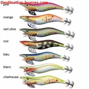 Turlutte zebco jekyll squid lure
